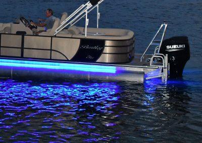 Exterior Blue LED PKG